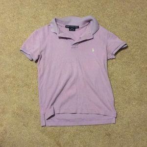 SOLD !!! Ralph Lauren Sport purple tee.